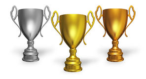 Winners cup Royalty Free Stock Photo