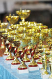 Winners cups Stock Images