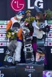 Winners men Royalty Free Stock Photo