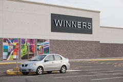 Winners Outlet Royalty Free Stock Image