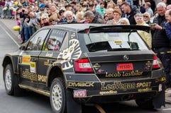 Winners at the Pirelli International Rally Stock Photos