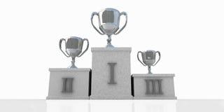 Winners podium Royalty Free Stock Photography