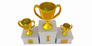 Winners podium Royalty Free Stock Photography