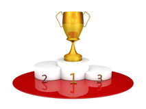 Winners podium Royalty Free Stock Photos