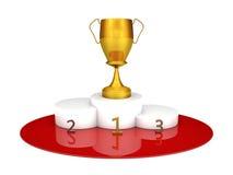 Winners podium Royalty Free Stock Photos
