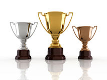 Winners trophy Royalty Free Stock Photos