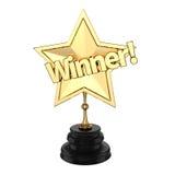 Winners trophy or award Stock Image
