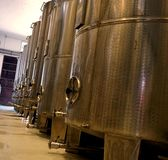 WINNERY TANKS stock foto's