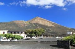 Winnicy los angeles Gería. Lanzarote, wyspy kanaryjska. zdjęcie stock