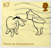 Winnie The Pooh and Eeyore characters Stock Photo