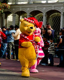Winnie the Pooh. Walks in the Walt Disney World Holiday Parade in Orlando, FL Royalty Free Stock Photos