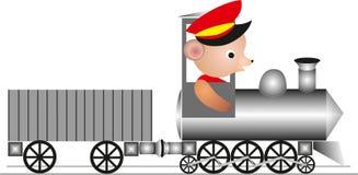 Winnie`s train Royalty Free Stock Photos