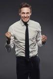 Winning at business Stock Photos