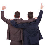 Winning businessmen Royalty Free Stock Photos