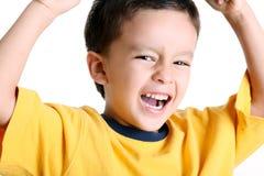 Winning child Stock Image