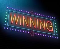 Winning concept. Royalty Free Stock Photo