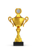 Winning cup Royalty Free Stock Photography