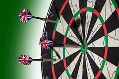 Winning Darts Stock Images