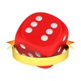 Winning dice Stock Photography