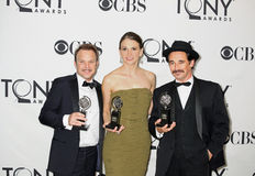 Winning Double Tonys for Trio Royalty Free Stock Images