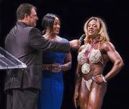 Winning Female Bodybuilder Stock Photos