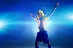 Winning football Royalty Free Stock Images