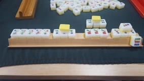 Winning game of Mahjong, Mosman, Sydney, NSW, Australia royalty free stock image