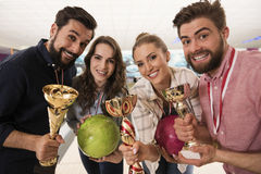 Winning the game Royalty Free Stock Images