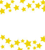 A winning gold star border Stock Photos