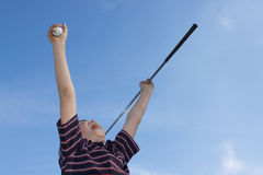 Winning At Golf Royalty Free Stock Images