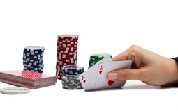 Winning Hand Stock Photos