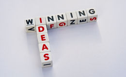 Winning ideas royalty free stock images