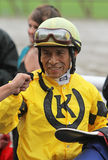 Winning Jockey Edgar Prado Royalty Free Stock Photography