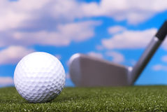Winning Putt Royalty Free Stock Images