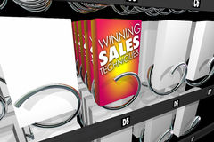Winning Sales Techniques Snack Vending Machine Royalty Free Stock Images