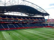 Winning stadium top view Royalty Free Stock Photo