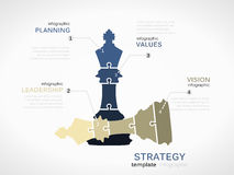 Winning strategy vector illustration