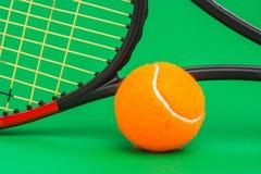 Winning tennis tournaments Stock Photos