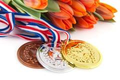 Free Winning The Dutch Team Royalty Free Stock Photos - 25025388