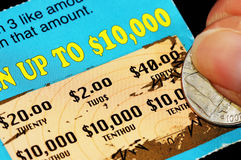 Winning Ticket Royalty Free Stock Photo