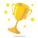 Winning Trophy Stock Photography