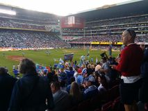 Winning. Western Province supporters cup final Royalty Free Stock Image
