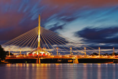 Winnipeg Bridge Royalty Free Stock Photo
