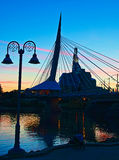 Winnipeg est magnifique photo libre de droits