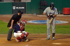Winnipeg-Goldeyes gegen Sioux City Explorers Stockfoto