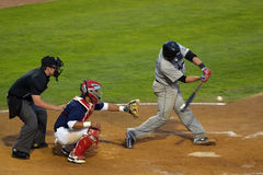 Winnipeg-Goldeyes gegen Sioux City Explorers Stockfotos