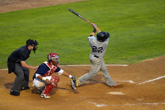 Winnipeg Goldeyes vs Sioux City Explorers Arkivbilder