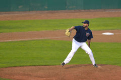 Winnipeg Goldeyes vs. Sioux City Explorers Stock Image