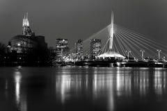 Winnipeg horisont arkivbilder