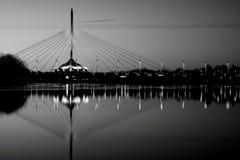 Winnipeg horisont royaltyfri fotografi